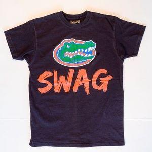 NCAA Florida Gators College Team Swag Black Tee